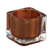Bolsius Tealight Square Copper 1.5 inch x 2.2 inch