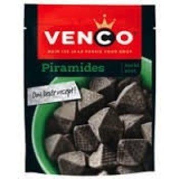 Venco Piramids Licorice 8 OZ bag