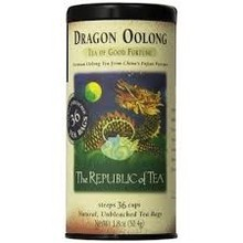 Republic Of Tea Dragon Oolong Tea - 36 Tea Bags Tin