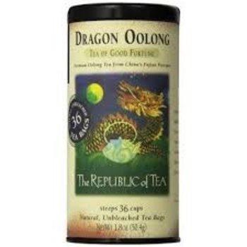Republic Of Tea Dragon Oolong Tea - 36 Tea Bags Tin