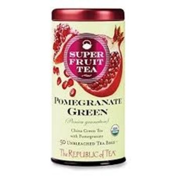 Republic Of Tea Pomegranate Green Tea - 50 tea bags