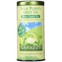 Republic Of Tea Decaf People's Green Tea - 50 tea bags