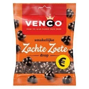 Venco Soft Sweet Black Licorice - 7 Oz bag