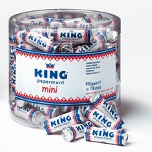 King Mini Rolls  110 rolls per tub