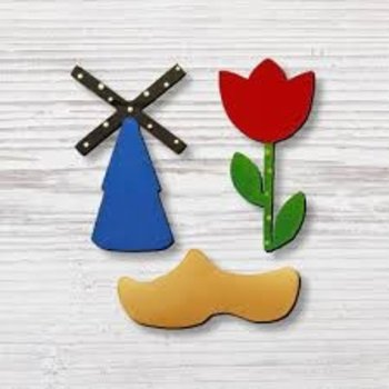 Roeda Studio Dutch Magnets 3 pack