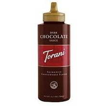 Torani Dark Chocolate Sauce - 6.5 OZ
