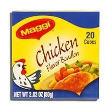 Maggi Chicken boulion cubes 20 ct