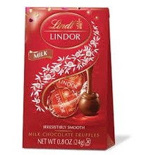 Lindt Milk Chocolate Lindor Balls - .8 Oz
