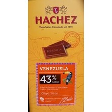 Hachez Venezuela Milk Chooclate Bar - 3.5Oz