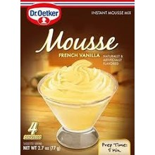 Dr Oetker Dark French Vanilla Mousse - 3.1 OZ