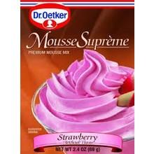 Dr Oetker Strawberry Mousse - 2.7 OZ