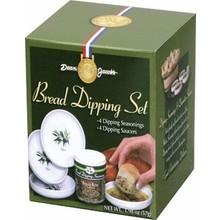 Dean Jacobs Bread dip 4 Flavors Seasonings - 2.4 oz with 4 saucers