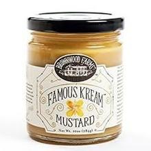 Famous Kream Mustard 10 OZ