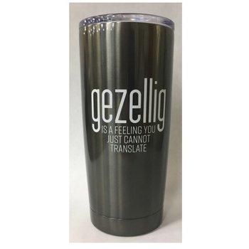 PGM Designs Stainless Steel Gezellig Feeling Travel Mug