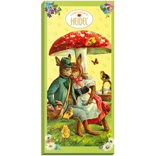 Heidel Nostalgic Easter Chocolate Bar 3.5 oz