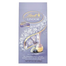 Lindt Blueberries & Cream Chocolate Lindor Balls - 8.5 Oz