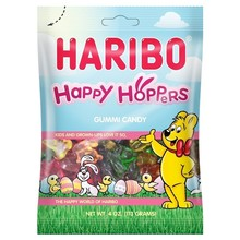 Haribo Happy Hoppers Gummi Bunnies - 4 Oz Bag
