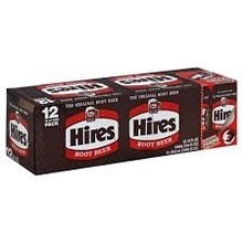 Hires Root Beer 12 Pack carton