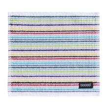 DDDDD Dish Cloth Multi Color Stripe 30x30cm