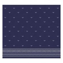 DDDDD Fjord design tea towel indigo