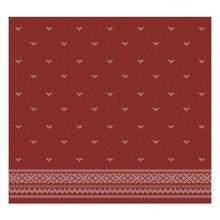 DDDDD Fjord design tea towel in red