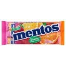 Van Melle Mixed Fruit Mentos 3 Pack