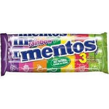 Van Melle Strawberry Mentos 3 Pack Rolls