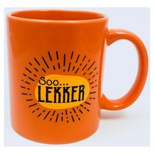PGM Designs Soo Lekker Coffee Mug - Orange