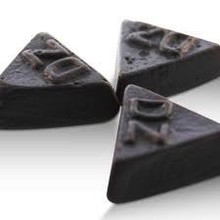 Meenk Double Salt Triangle Licorice Kilo - 2.2 LB Bag