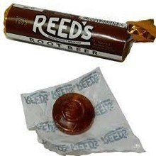 Reeds Root Beer Candy 1 oz Roll