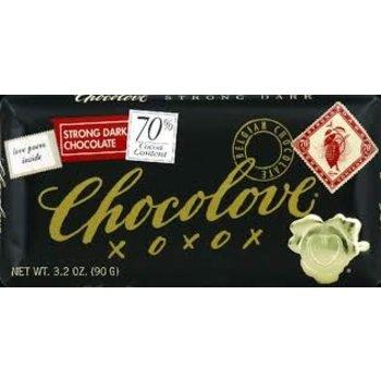 Chocolove Strong 70% Dark Bar - 3.2 OZ