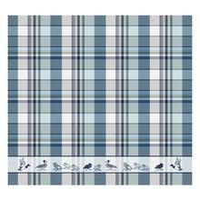 DDDDD Duck Dance tea towel in colorful design