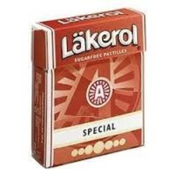 Lakerol Sugar Free Menthol Licorice - .8OZ