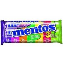 Van Melle Strawberry Mentos 3 Pack Rolls