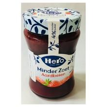 Hero Less Sugar Strawberry Jam - 10.4 oz Jar Dated June 2018