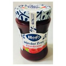 Hero Less Sugar Raspberry Jam - 10.4 Oz Jar