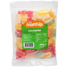 Matthijs Sour Gummy Bears - 14.1 Oz Bag