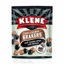 Klene Salt & Salmiak Krackers - 7.4 Oz