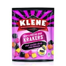 Klene Fruit & Licorice Krackers - 7.4 Oz Bag