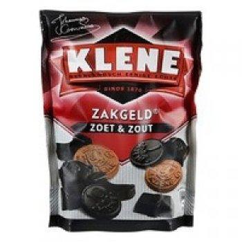 Klene Zakgeld Pocket Money Licorice sweet and salty mix 8 oz