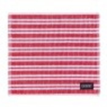 DDDDD Dish Cloth Red and white 30x30cm