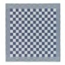 DDDDD BBBQ blue pattern tea towel 24 x 25
