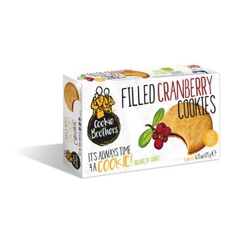 Cookie Brothers Filled Cranberry Cookies - 6.15 Oz