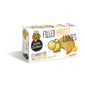 Cookie Brothers Filled Apricot Cookies - 6.17 Oz