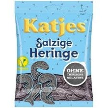 Katjes Licorice Herring - 7 Oz bag