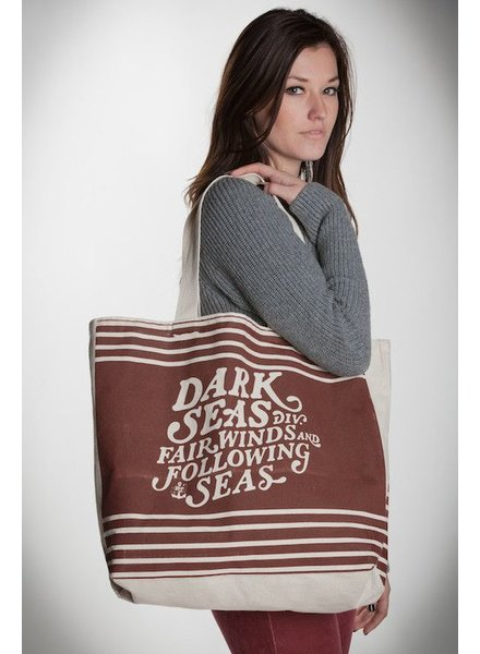 DARK SEAS DARK SEAS FAIR WINDS TOTE