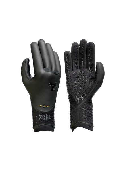 XCEL XCEL 5MM DRYLOCK 5FINGER GLOVE