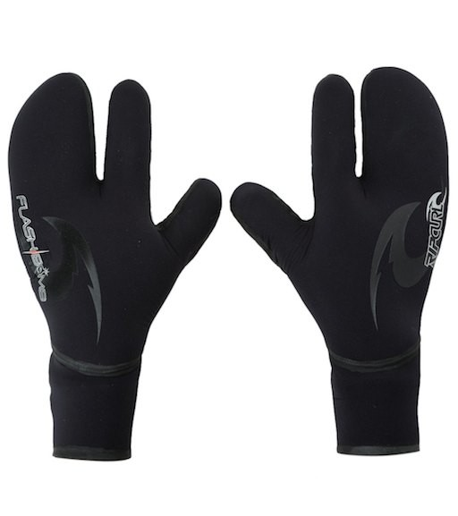 RIP CURL RIP CURL FLASH BOMB 5/3MM 3 FINGER GLOVE