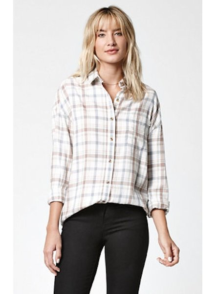 OBEY OBEY DITCH PLAINS BUTTON DOWN