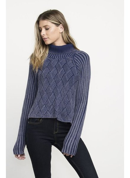 RVCA RVCA MATTE CHECK SWEATER